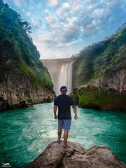Cascada De Tamul, San Luis Potosi (The Pixel Wolf) Tags: adventure vacationwolf instagood waterfall mexico tamasopo tamul photography river travelawesome bestvacations canonusa sanluispotosi huasteca goodlife