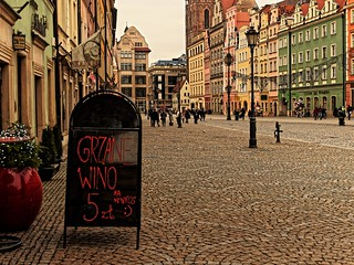 Marketplace in Wroclaw