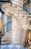 Escalier de la Maison du Pain (Zéphyrios) Tags: selestat alsace grandest nikon d7000 béton rose xxi frey gobyn céréales blé cereals grain