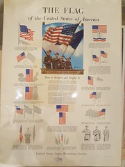 "THE FLAG POSTER, WWII.  $95. • <a style=""font-size:0.8em;"" href=""http://www.flickr.com/photos/51721355@N02/38918410784/"" target=""_blank"">View on Flickr</a>"