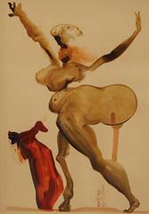 Salvador Dalì (Salvador Domènec Felip Jacint Dalí i Domènech 1904-1989) - Manto - La Divina Commedia (acquarello 1950-1954) - Historian Gallery - Gavirate (Varese) (raffaele pagani (away for a while)) Tags: salvadordalì salvadordomènecfelipjacintdalíidomènech ladivinacommedia dantealighieri virgilio virgil labibbia thebible mostra exhibition acquarello watercolor serigrafia screenprinting oltronaallago gavirate provinciadivarese canon