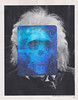 look at from everywhere, in all your lights (deadphlegm) Tags: art artist collage hologram reuse einstein death detournement useeverypart surreal skull paper vintage photo