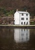 Week 2/52 - A cottage along the canal. A beautiful cottage along Llanfoist canal on a frosty morning. (Athllandor) Tags: cottage canal winter water frost frosty ice cold 52weekproject january