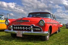 Desoto Firedome 1955 (Triple-green) Tags: 1955 2007 auto desoto fattal firedome hdr luminancehdr schweden uscar v8
