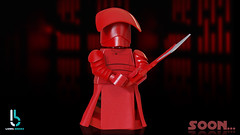 Soon... - New Custom Praetorian Guards (Erik Petnehazi) Tags: lego star wars episode 8 viii praetorian guards new custom updated cg 3d blender cycles helmets helmet arm armor weapons waist cape living bricks soon teaser