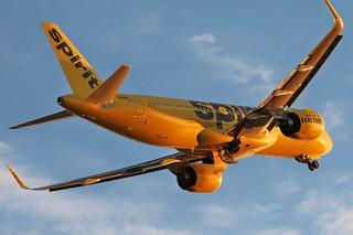 N901NK spirit A320-271N SL at KCLE