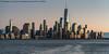 Sunset Light (20180113-DSC07282) (Michael.Lee.Pics.NYC) Tags: newyork lowermanhattan onewtc wtc worldtradecenter hoboken newjersey hudsonriver sunset architecture cityscape skyline sony a7rm2 fe70300mmg