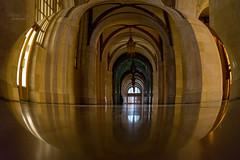 ... corridor (mariola aga) Tags: chicago cityhall building corridor interior ceiling doors architecture reflection light distortion perspective thegalaxy