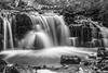 Falls above Chapel Falls in Michigan's upper Peninsula (TAC.Photography) Tags: waterfalls river stream bw blackandwhite monochrome upperpeninsula chapelfalls tomclarknet d7100