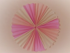 Made of folded paper (Hannelore_B) Tags: macro papier paper madebyme smileonsaturday