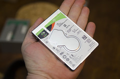 Firecuda 2TB in the palm of your hand (Arne Kuilman) Tags: seagate firecuda hybrid 2gb 2gigabytes hddssd harddrive hand palm small storage