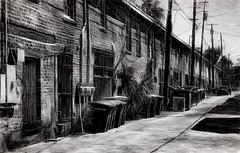 Tenements (beelzebub2011) Tags: usa georgia savannah tenements bw monochrome