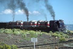 Coal Train on the Wattis Branch (jamesbelmont) Tags: utahrailway alco rsd12 rsd4 rsd5 wattis coal grade railway diesel