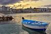 Una barchetta al porto di Otranto (diegozizzari) Tags: otranto mare onde cielo colori panorama lecce barca porto spiaggia nuvole salento
