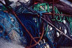.. (Celso Kuwajima) Tags: knot rope anchor kodakektar100 leicasuperangulon13421mm fishingnet buoy leicam4 analogphotography imbituba santacatarina brazil br