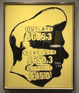 Thin Lips, 1984-85, Jean-Michel BASQUIAT + Andy Warhol.