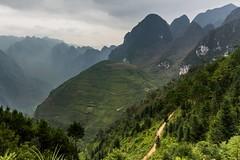 Horská krajina severního Vietnamu (zcesty) Tags: vietnam23 krajina hory vietnam dosvěta hàgiang vn