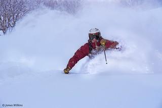 JDS Skiing powder 2016 Japan photo credit James Wilkins