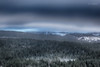 Ambivalent Weather (Normann Photography) Tags: hesnesair ambivalence ambivalentweather blue blueish cold green helicopter intheair lowclouds snow winter skien telemark norway no
