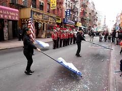 New York Chinese School Fife and Drum corp. (Street Witness) Tags: chinatown nyc mott street