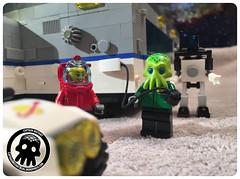 35-1 Charging Up (captainmutant) Tags: lego scifi science fiction adventure toy photography minifigure minifig explore legoideas classicspace space