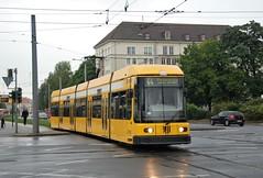Dresden, Straßburgerplatz 26.09.2014 (The STB) Tags: tram tramway strassenbahn strasenbahn streetcar dresden dresde publictransport öpnv citytransport tranvía