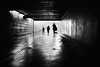 Tunnel (Bo Hvidt) Tags: fujifilmx70 x70 bohvidt blackwhite bw blackandwhite monochrome nik nikcollection silverefex copenhagen tunnel