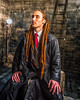 Matthew (John ME Photography) Tags: dreadlocks portrait studio ladder tie red box wood leather jacket