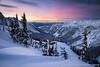 New Year's Sunrise (David Swindler (ActionPhotoTours.com)) Tags: snow mountains pacificnorthwest sunrise washington winter artistspoint ski