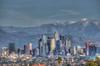LaLaLand in Winter (Michael F. Nyiri) Tags: cityscape city mountains sangabrielmountains mtbaldy losangeles la skyline southerncalifornia building architecture