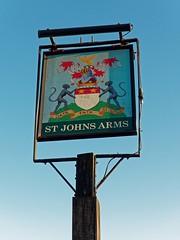 St Johns Arms, Melchbourne (Dayoff171) Tags: stjohnsarms melchbourne pubsigns signs unitedkingdom england europe bedfordshire gbg gbg2018