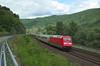 DB 101 011, Bacharach (Sander Brands) Tags: trein treni train treno trenuri db d7000 züg zug züge nikon rail railfanning rhein rheintal ic intercity bacharach baureihe br