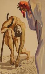Salvador Dalì (Salvador Domènec Felip Jacint Dalí i Domènech 1904-1989) - La legge del salire - La Divina Commedia (acquarello 1950-1954) - Historian Gallery - Gavirate (Varese) (raffaele pagani (away for a while)) Tags: salvadordalì salvadordomènecfelipjacintdalíidomènech ladivinacommedia dantealighieri virgilio virgil labibbia thebible mostra exhibition acquarello watercolor serigrafia screenprinting oltronaallago gavirate provinciadivarese canon