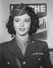Brunette era Dorothy Malone. Photo dated 4/18/1945. (stalnakerjack) Tags: movies actresses dorothymalone hollywood