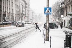 Dash (ewitsoe) Tags: snow poznan winter snowfall heavysnow cold ewitsoe poland wintery chill zima street cityscape urban pedestrian neighborhood jezyce canon eos6dii 50mm 12 lseries lens glass