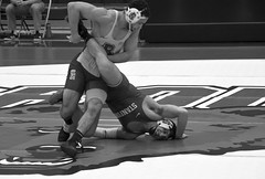 BRO-STA 165 2018-01-13 DSC_8352 bw (bix02138) Tags: brownuniversity brownbears stanforduniversity stanfordcardinal pizzitolasportscenter pizzitolasportscenterbrownuniversity providenceri january13 2018 wrestling sports intercollegiateathletics athletes jocks ©2018lewisbrianday 165pounds 165 jonviruet jaredhill