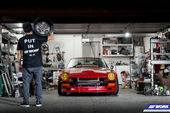 CHASING J'S DATSUN 240Z on WORK Equip 40 (WORK Wheels Japan) Tags: work workwheels wheels chasingjs datsun 240z s30 equip 40 equip40