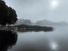 one of 2700 (Alexander Dülks) Tags: tretboot nebel masury 2017 masuria ruderboot rowingboat see mist dunst masuren fog lake polen mazury poland kosewo