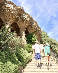 fullsizeoutput_2837 (cordingley.neil) Tags: barcelona park guell spain architecture rock vegetation green gaudi nature
