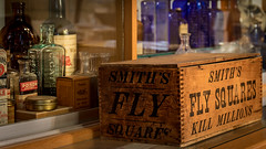Smith's fly squares (hey ~ it's me lea) Tags: smith antique flysquares box woodenbox old vintage retro bottles pharmacy collectibles smithsflysquares killmillions