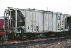CB&Q Class HC-1D 182304 (Chuck Zeiler) Tags: cbq class hc1d 182304 burlington railroad covered hopper freight car galesburg train chuckzeiler chz