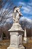 Stone Angel Bokehrama (Stephen Douglass Clark) Tags: zenzabronicazenzanon100mmf28 bokehpanorama bokehrama severancemonument stratham nh newhampshire fotodioxpro nodalninja