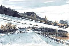 De viaje (P.Barahona) Tags: paisaje viaje nieve carretera