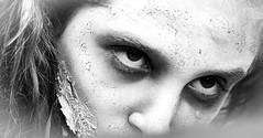 Zombie eyes (vinnie saxon) Tags: nikon event nikoniste zombie blackandwhite monochrome portrait people eyes