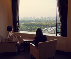 a room with a view (humbletree) Tags: tokyo imperialhotel hibiyapark