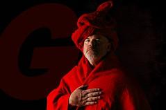 Man in Red (Studio d'Xavier) Tags: maninred red rouge rudd portrait strobist