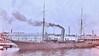 USS Mayflower [PY-1] presidential yacht in war paint at Washington DC Navy Yard ca1918 NARA165-WW-335B-009 (SSAVE over 10 MILLION views THX) Tags: yacht patrolyacht ww1 worldwari