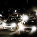 Cars at Night on Dusty Road - Near Boudha Stupa - Kathmandu_Web 1
