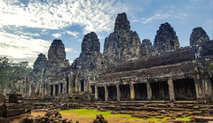 Angkor Thom (L. Brannan) Tags: ruins sky cambodia asia angkor thom architecture south east temple explore discover travel history historical culture sun