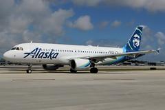 N625VA   Airbus A320-214   Alaska Airlines (cv880m) Tags: aviation aircraft airplane jetliner fll kfll lauderdale ftlauderdale fortlauderdale florida flap flap2018 ramptour broward bcad airliner airline n625va airbus a320 320200 320214 asa alaskaairlines eskimo alaska